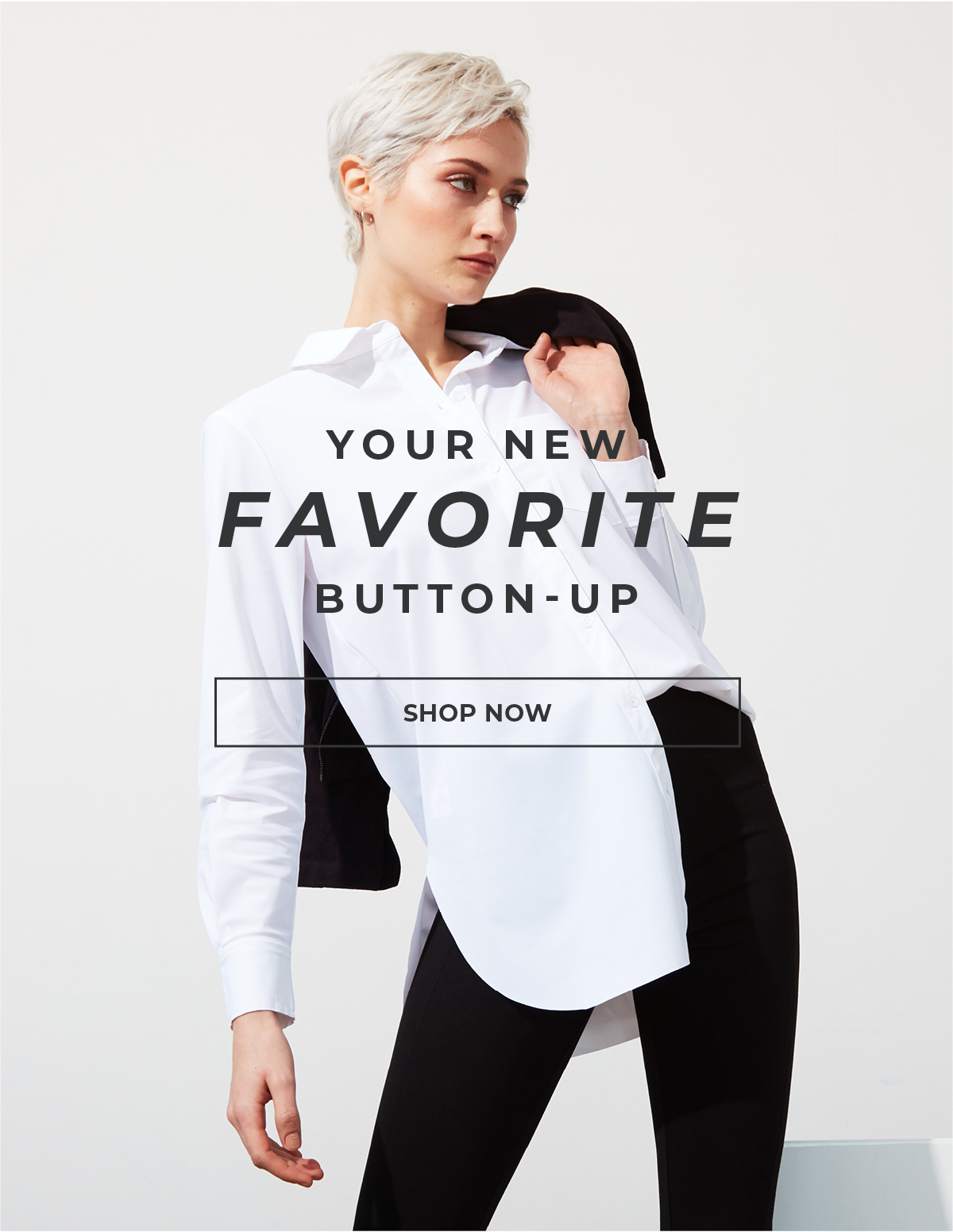 Your New Favorite Button Up