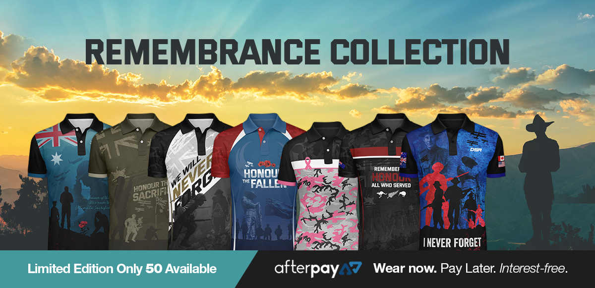 Remembrance Collection – Defence Sporting Apparel