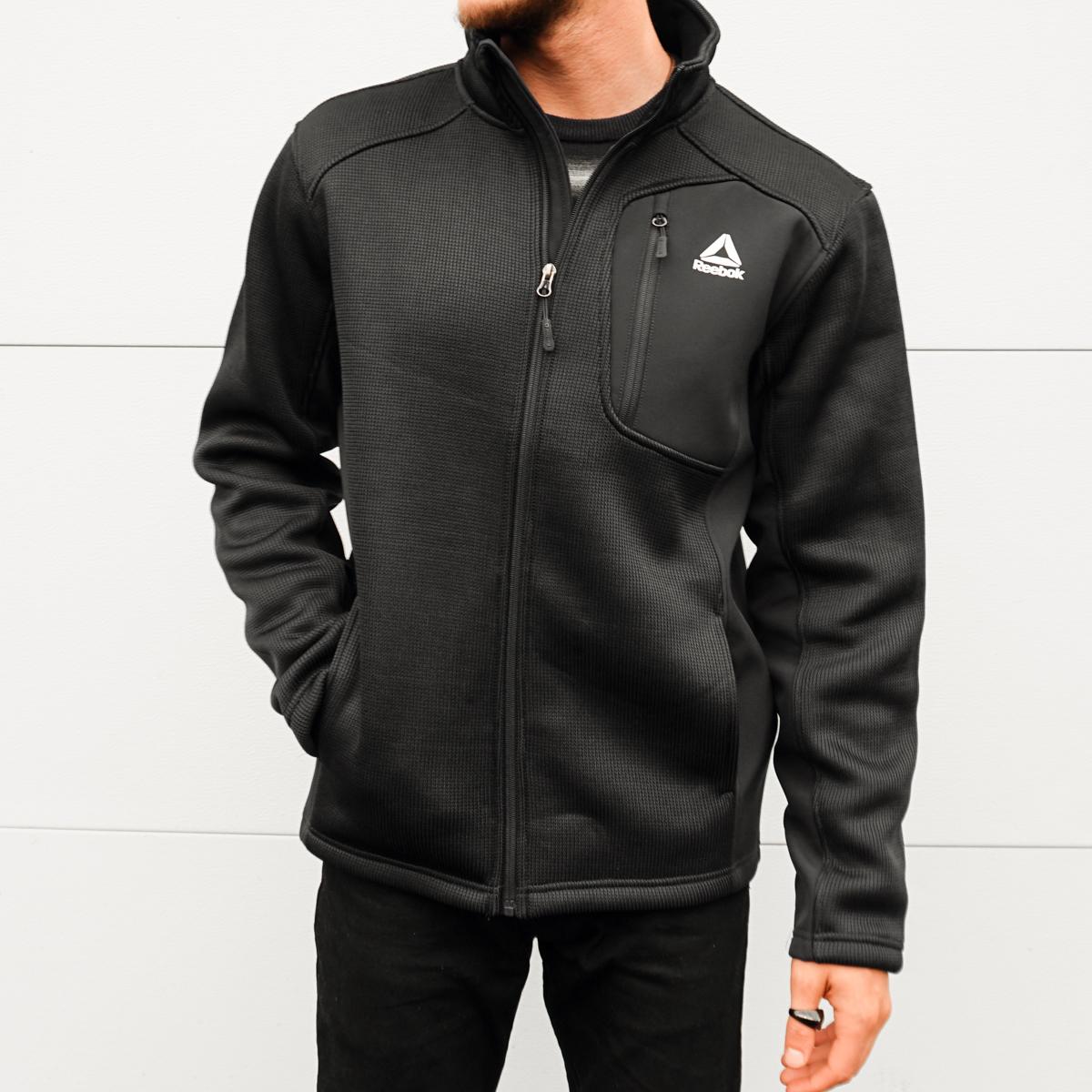 Reebok Men's Sweater Fleece Jacket