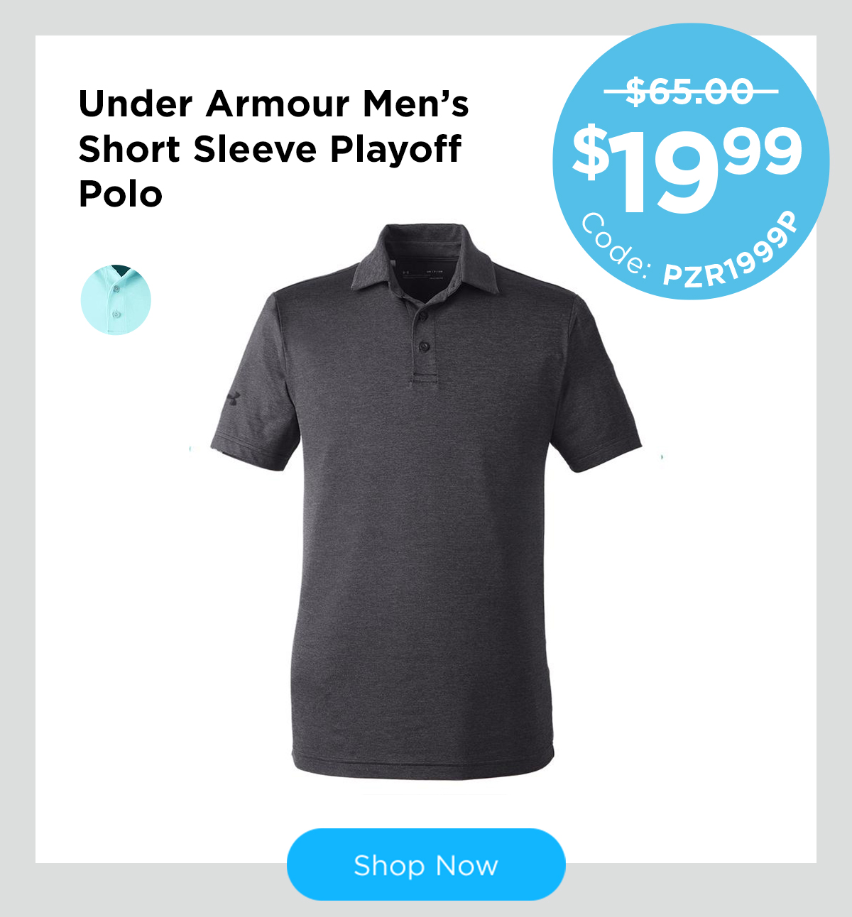 Under Armour Men's Short Sleeve Playoff Polo