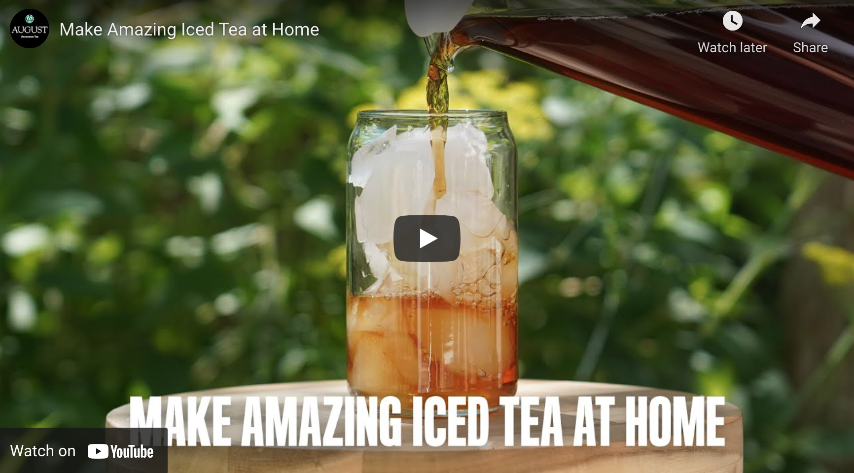 Make Amazing Iced Tea
