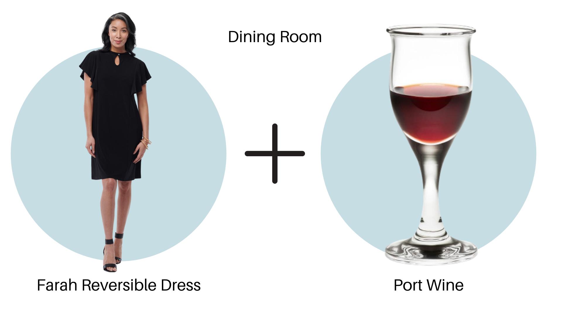 Farah Reversible Dress