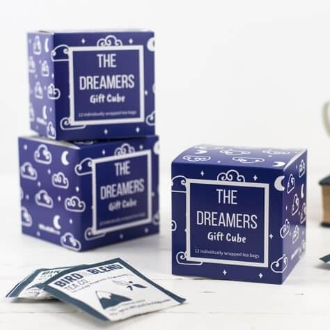 Dreamers Tea Gift Cube