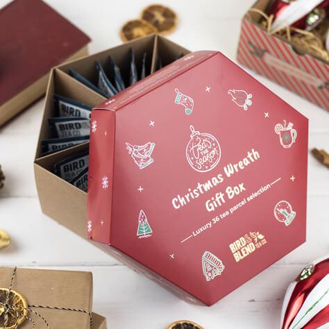 Christmas Wreath Tea Selection Box