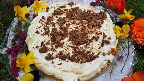 Chocolate Digestives Cheesecake