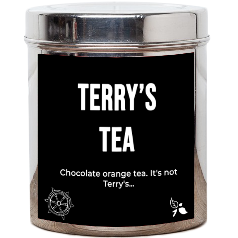 Terry's Orange Choc Tea