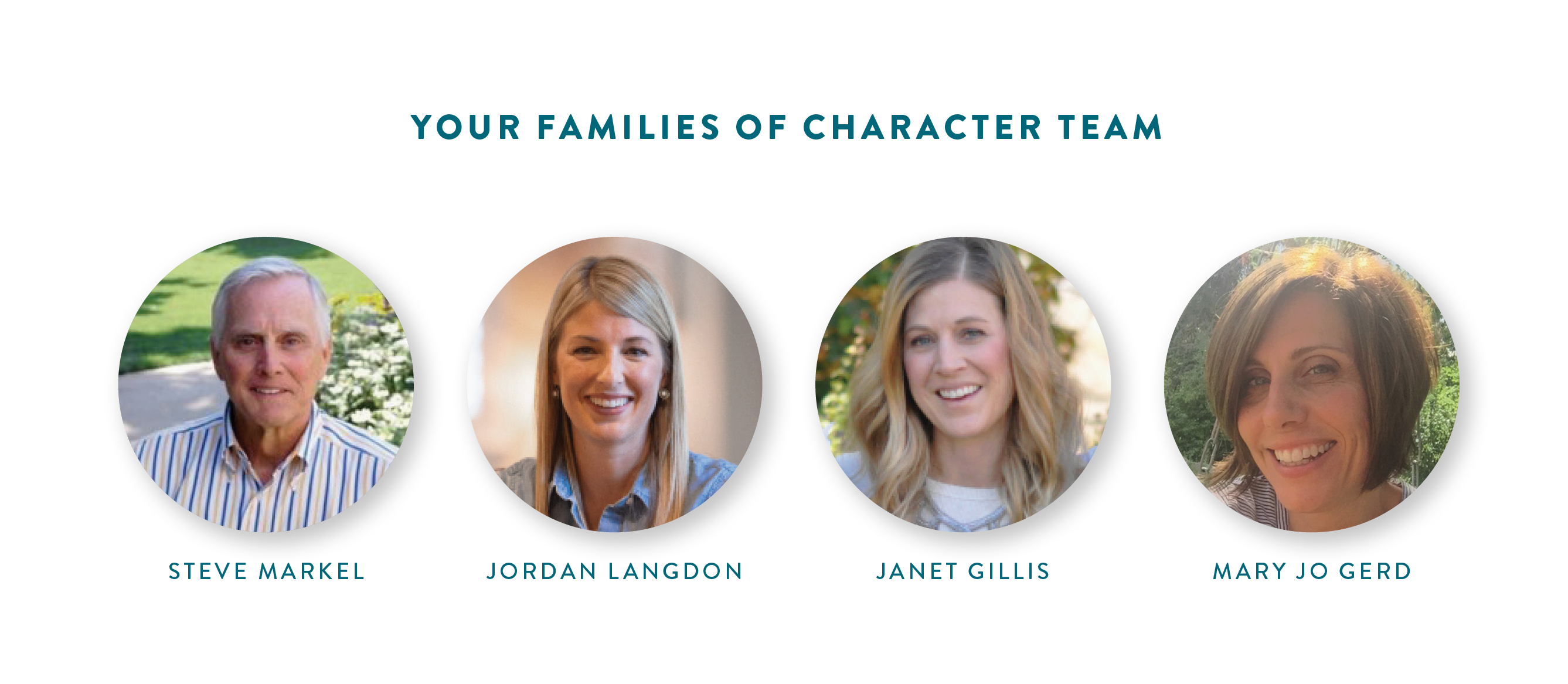 Families of Character Team