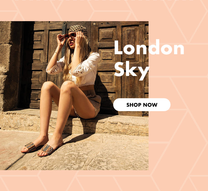 London Sky Sandals