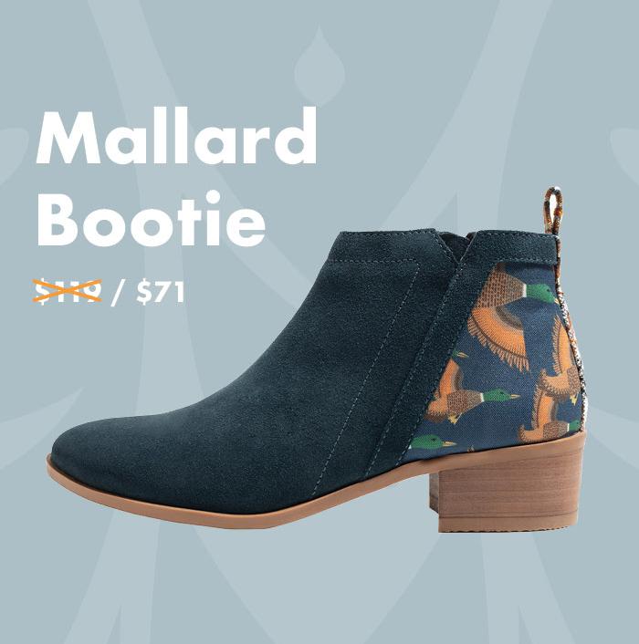 Mallard Bootie