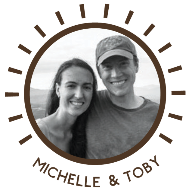 Munk Pack Co-Founders, Michelle and Toby