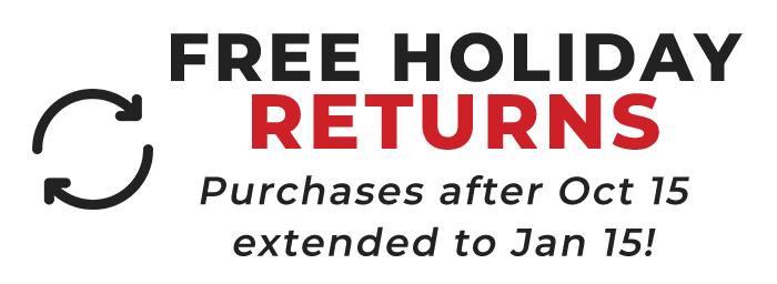 Free Holiday 60-Day Returns on SkyTrak