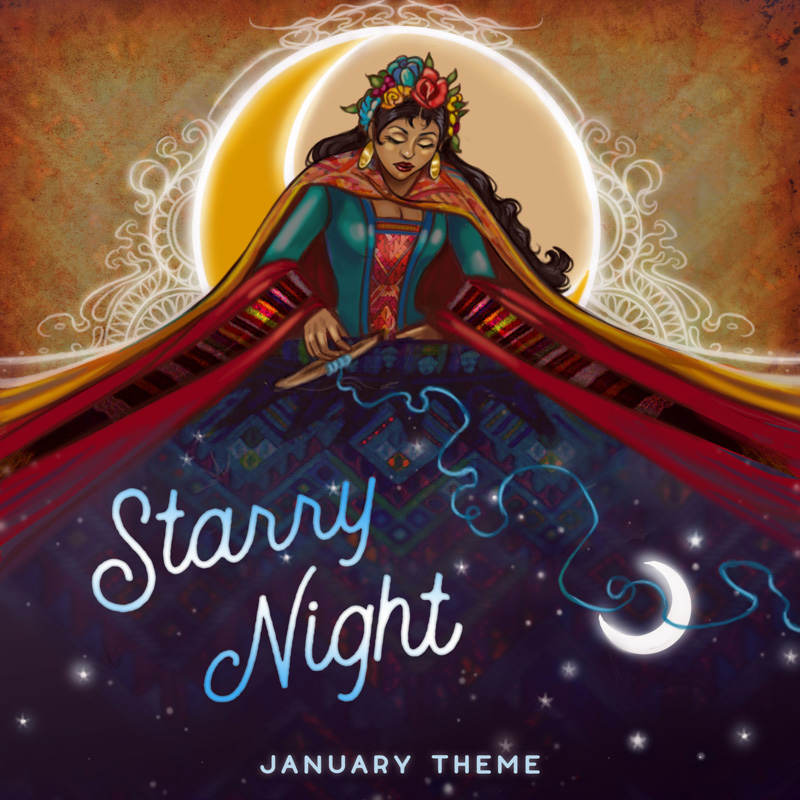 January Theme: Starry Night