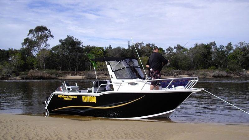 2011 OFFSHORE MARINE MASTER 580 WA