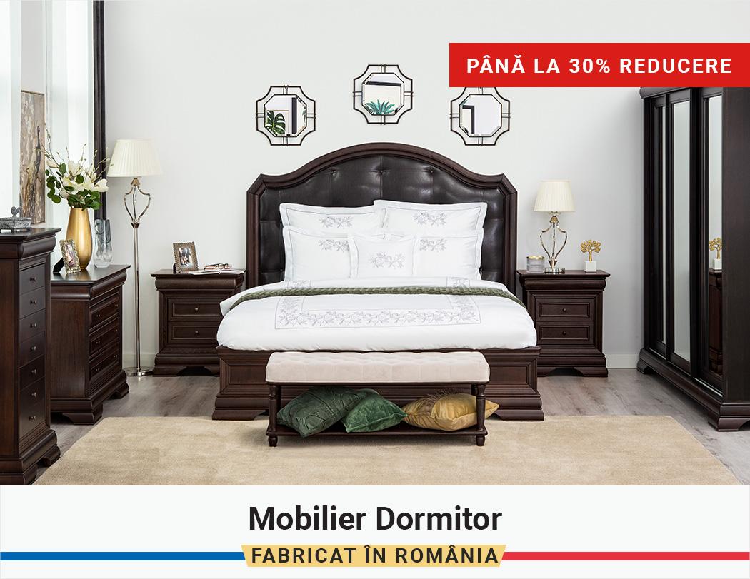 Fabricat in Romania: Pana la 30% Reducere la Mobilier Dormitor