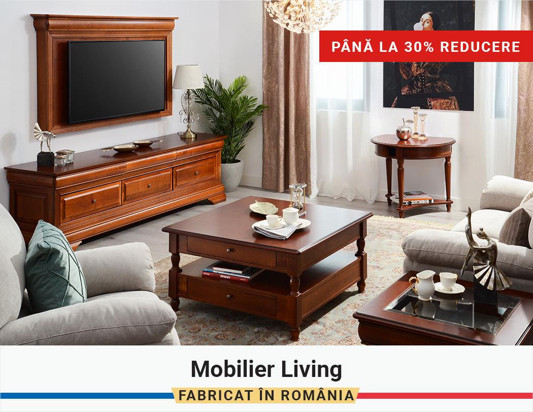 Fabricat in Romania: Pana la 30% Reducere la Mobilier Living