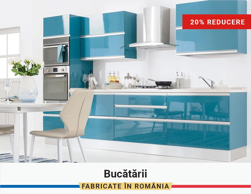 Fabricat in Romania: 20% Reducere la Bucatarii