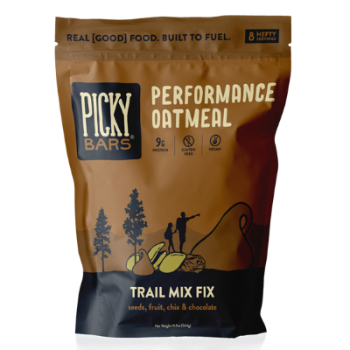 Trail Mix Fix now in official, super pro, 8-serving resealable bags
