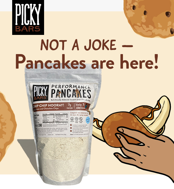 It wasn't a joke - Performance Pancakes are really here!