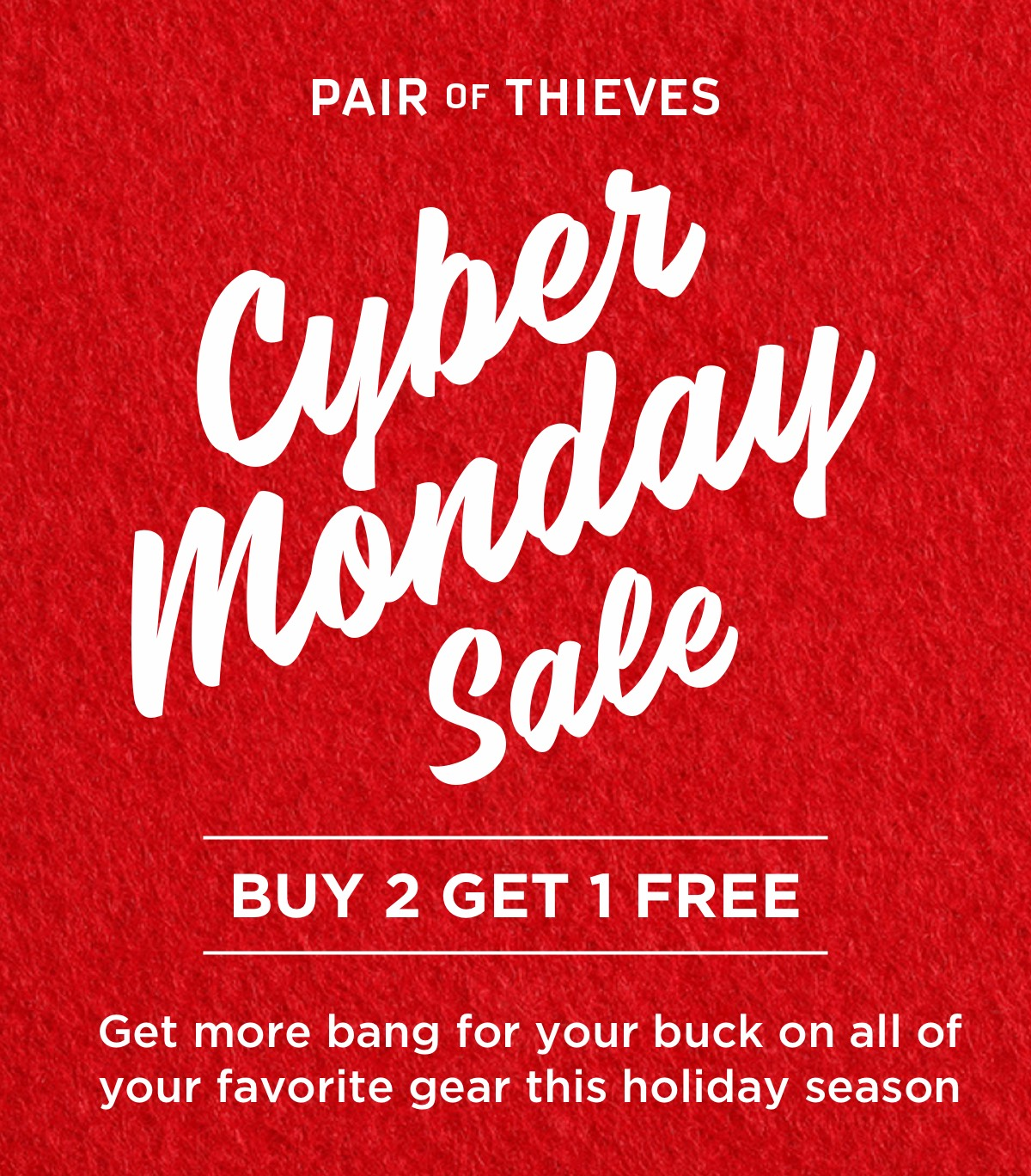 Pair of Thieves Cyber Monday Sale