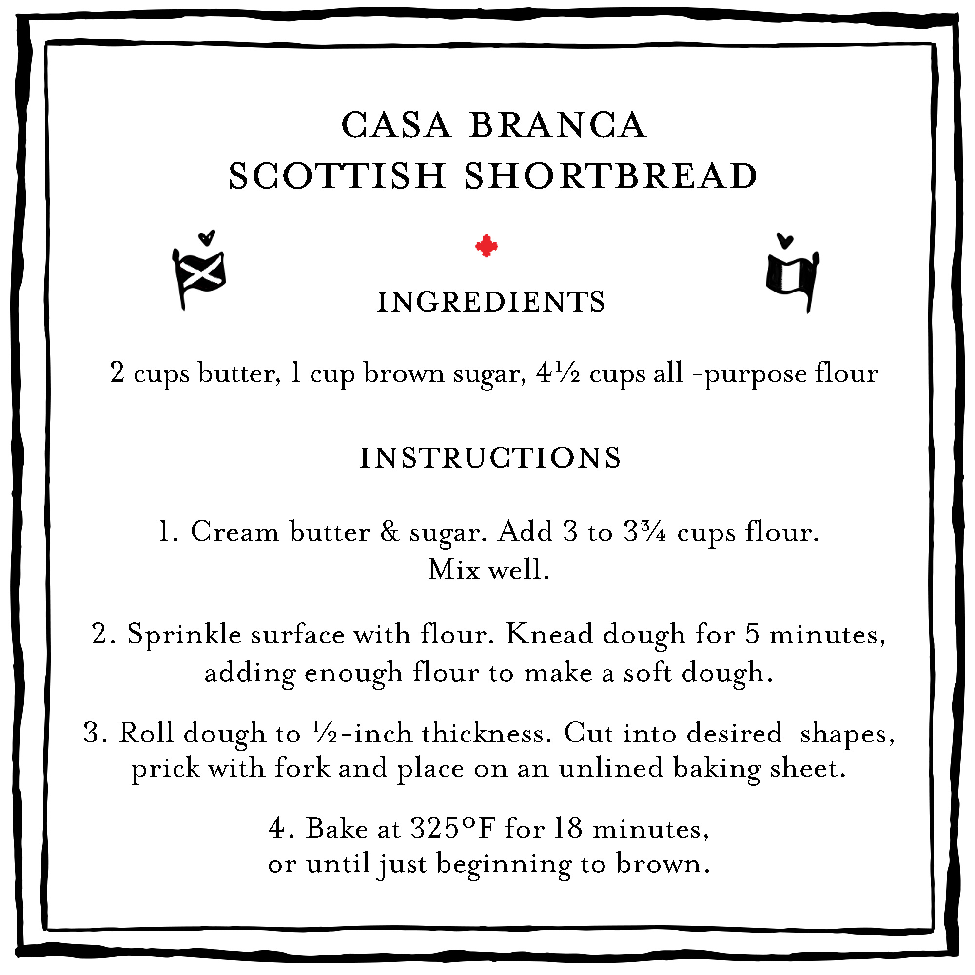 Casa Branca Scottish Shortbread