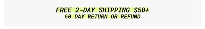 Free Express Shipping $50+