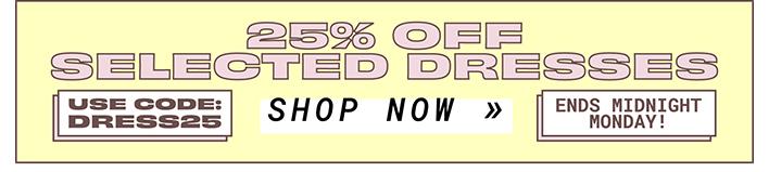 Dress Sale >> Shop Now