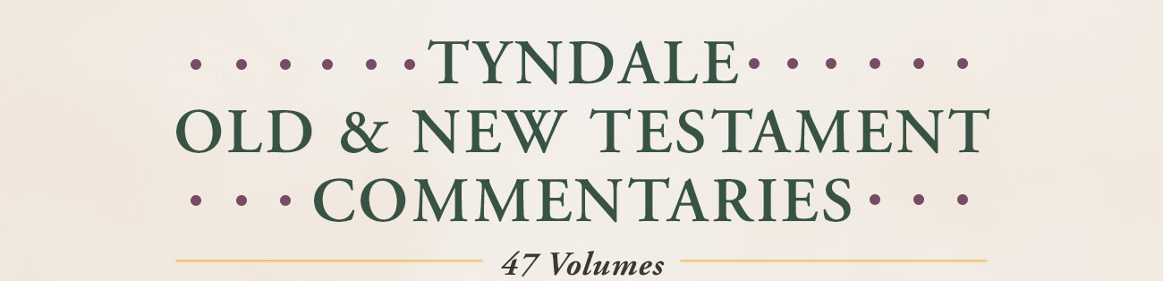 Tyndale Commentary Series