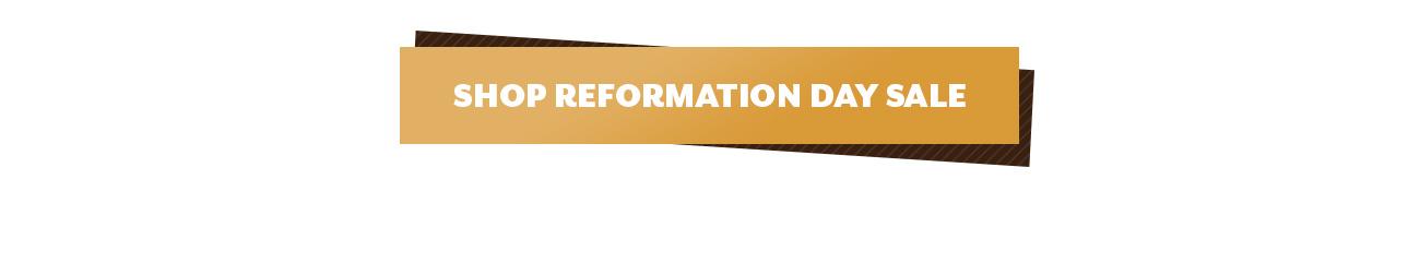 Reformation Day 2020