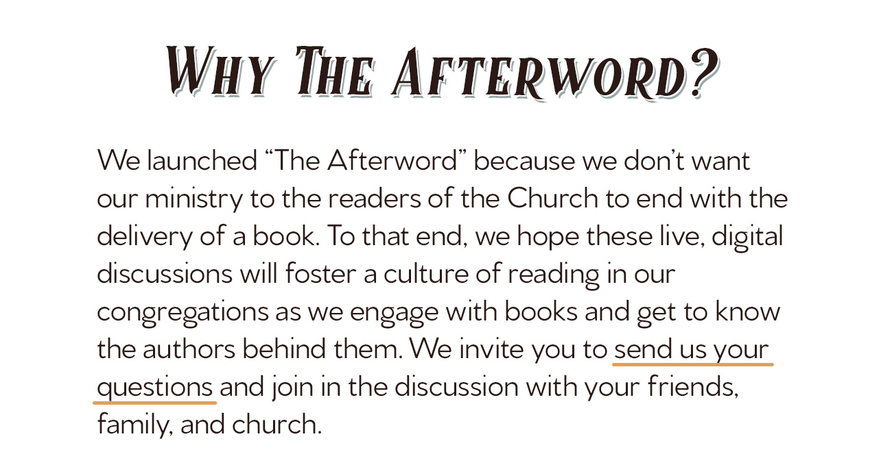 The Afterword Episode 2