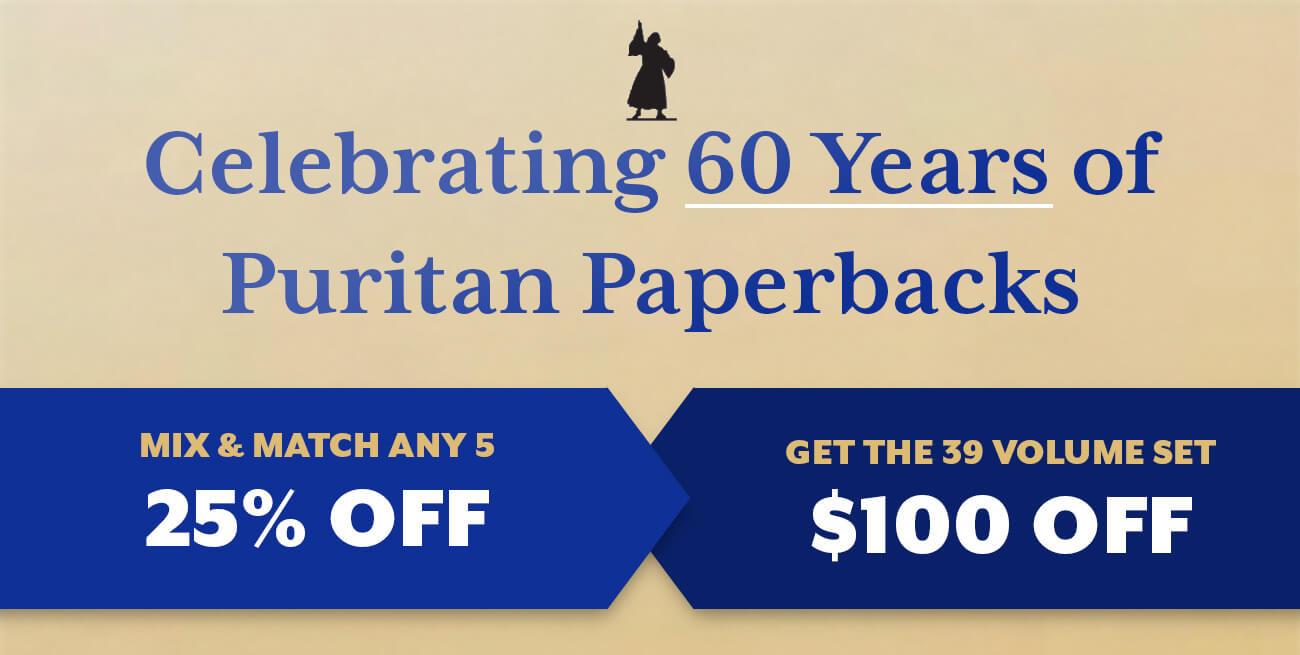 Puritan Paperbacks 60th Anniversary