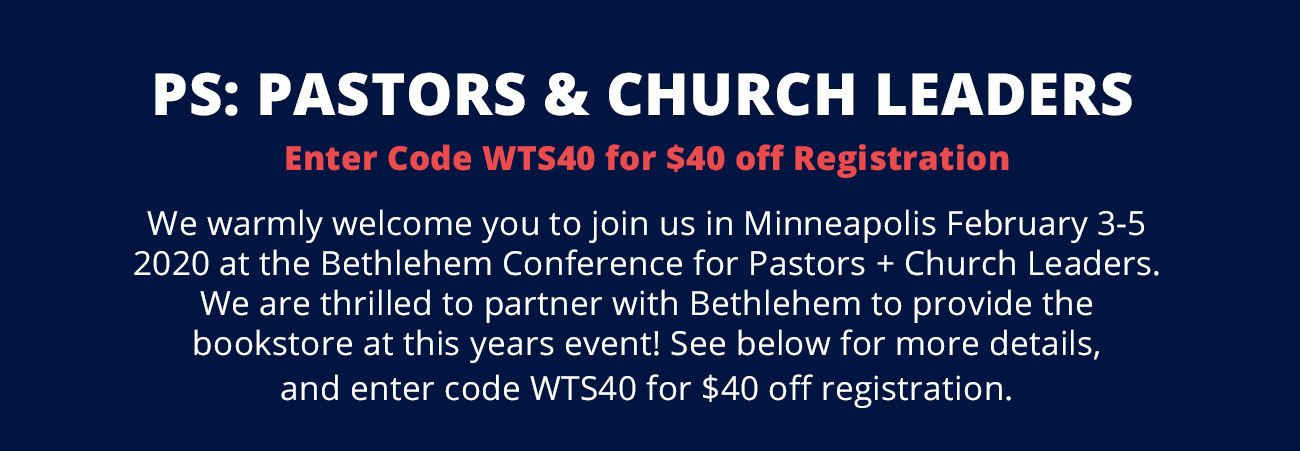 Bethlehem Conference for Pastors