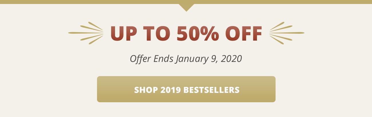 2019 Bestsellers