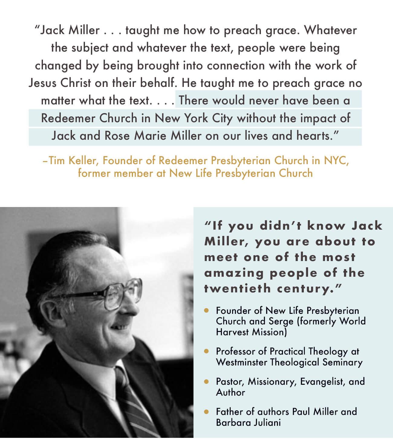 Jack Miller Books
