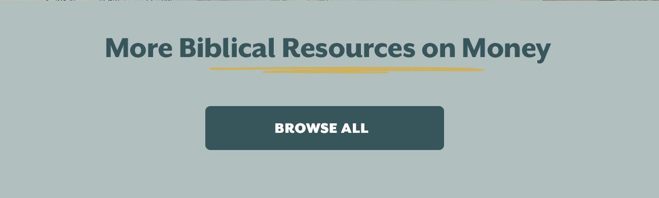 Resources on Money