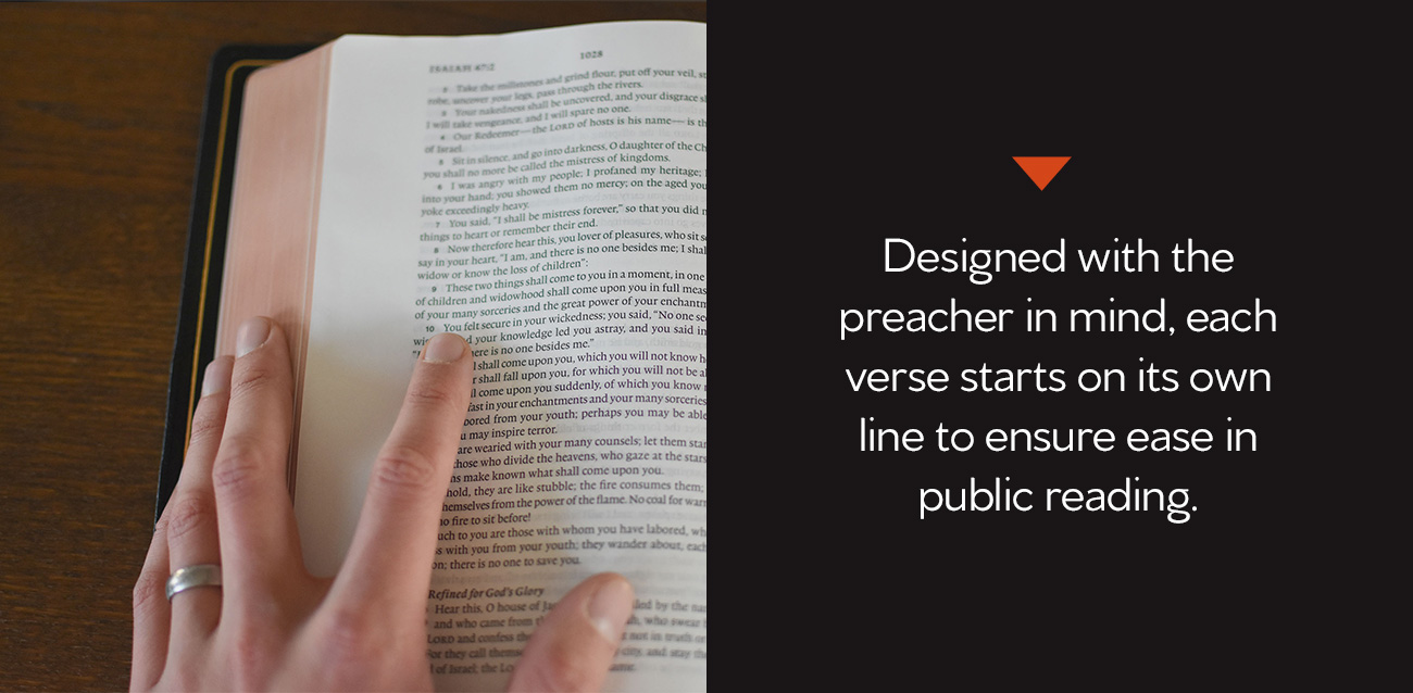 ESV Preaching Bible