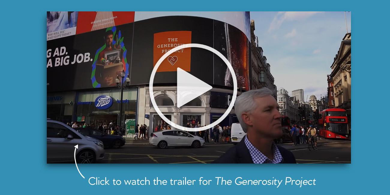 The Generosity Project - Trailer