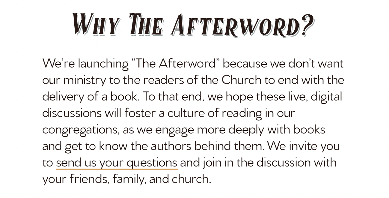 The Afterword