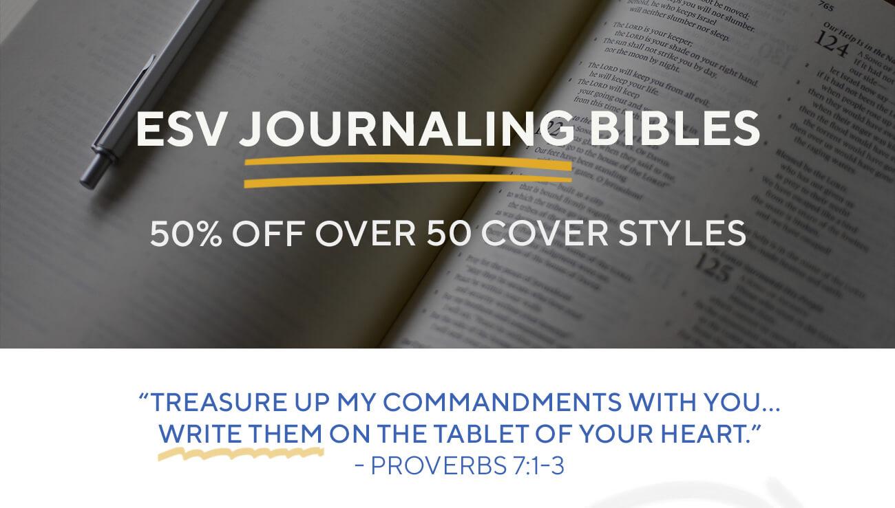 ESV Journaling Bibles