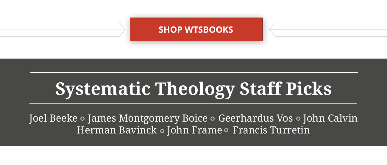 Letham's Systematic Theology