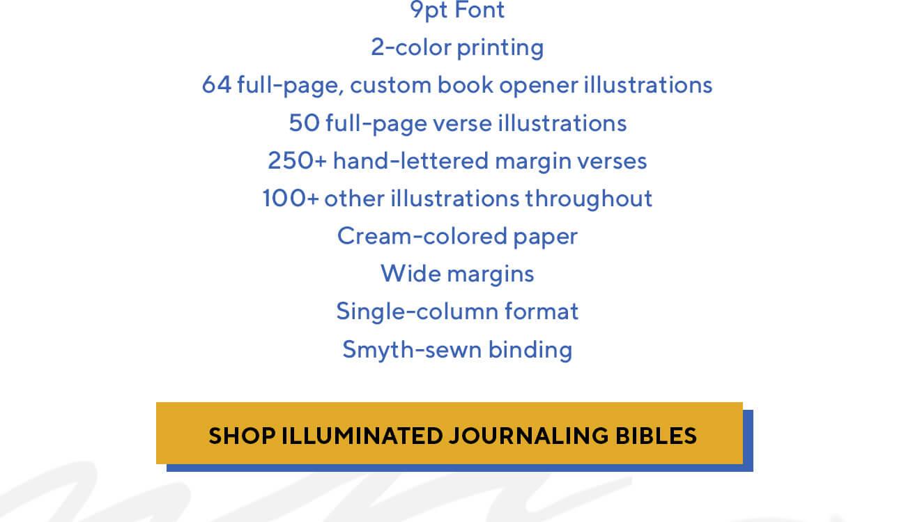 ESV Illuminated Bible, Art Journaling Edition