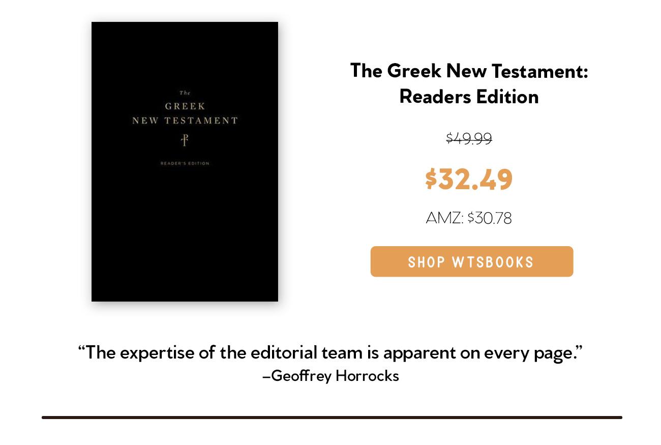 Readers Greek NT