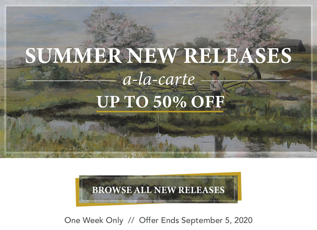 Summer New Releases