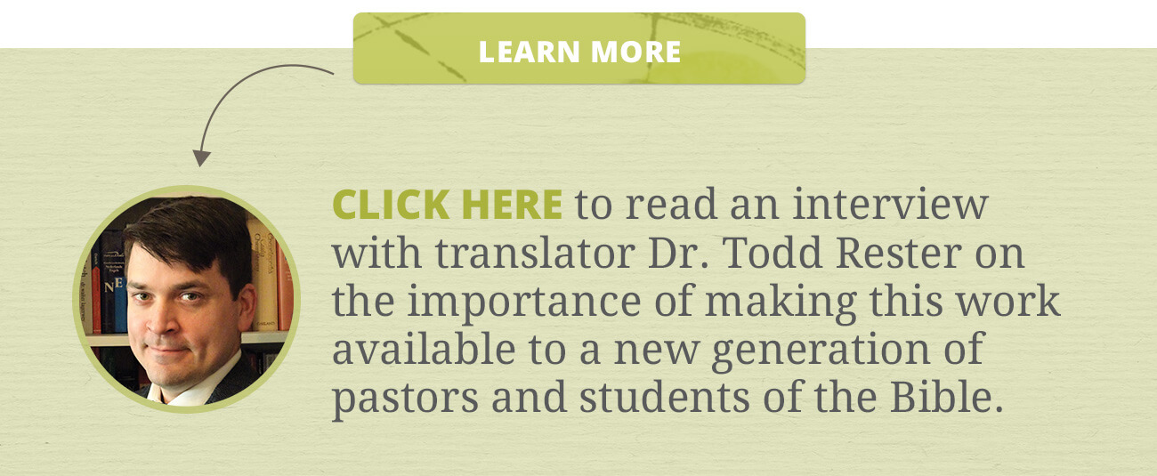 Translating Van Mastricht: An Interview with Dr. Todd Rester