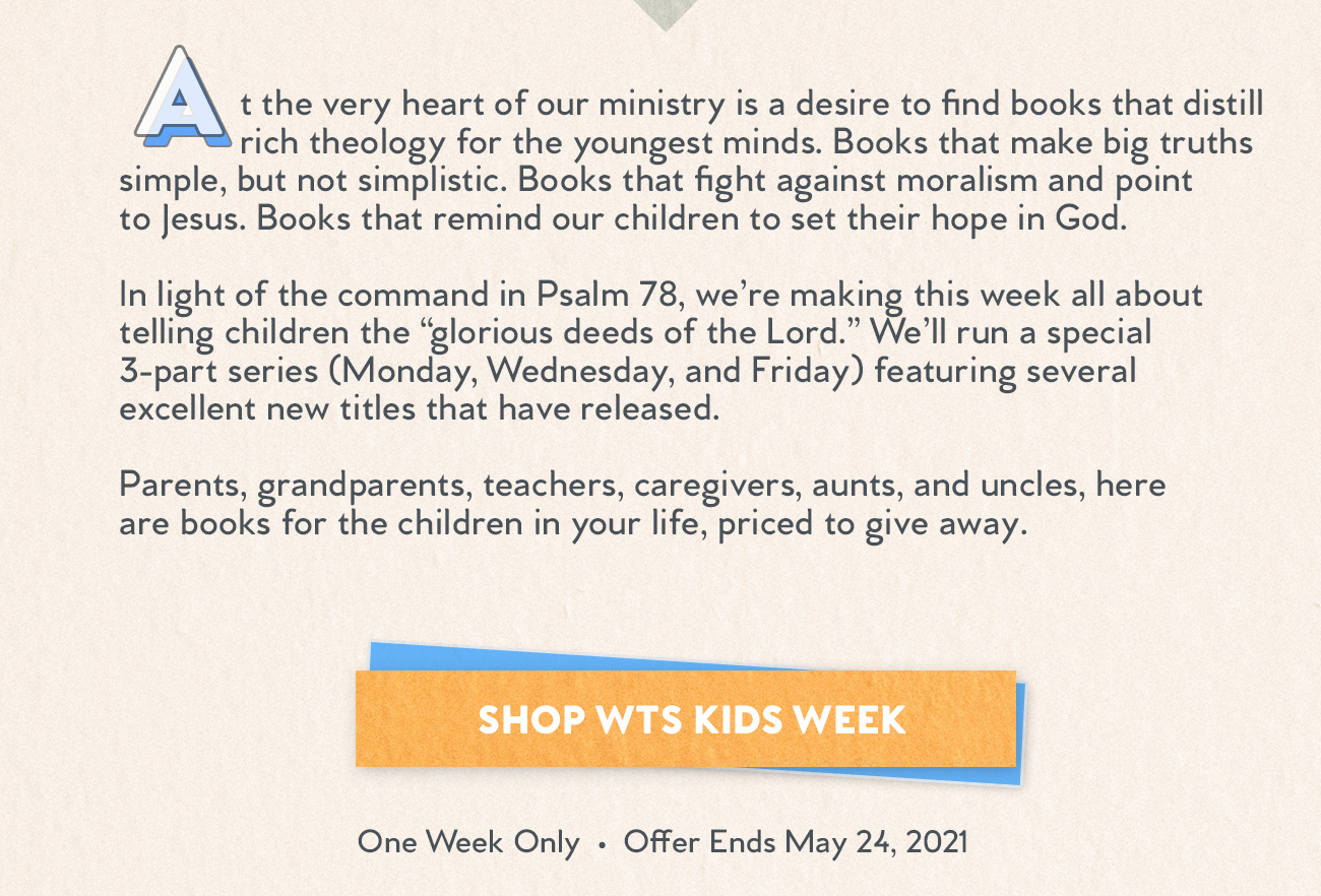 Westminster Bookstore Kids Week - Part 1