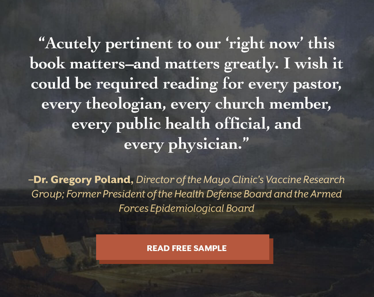 Faith in the Time of Plague
