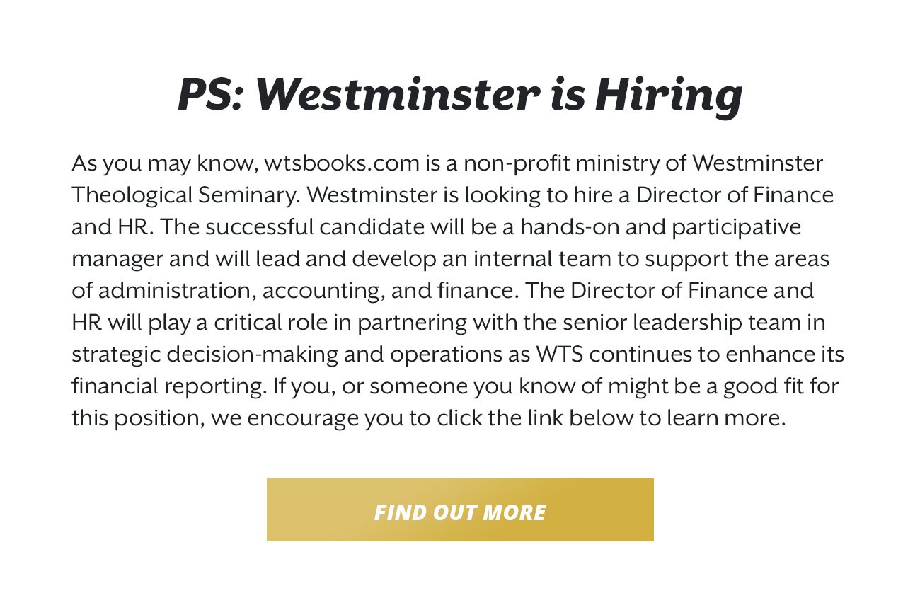 WTS Director of Finance Job Posting
