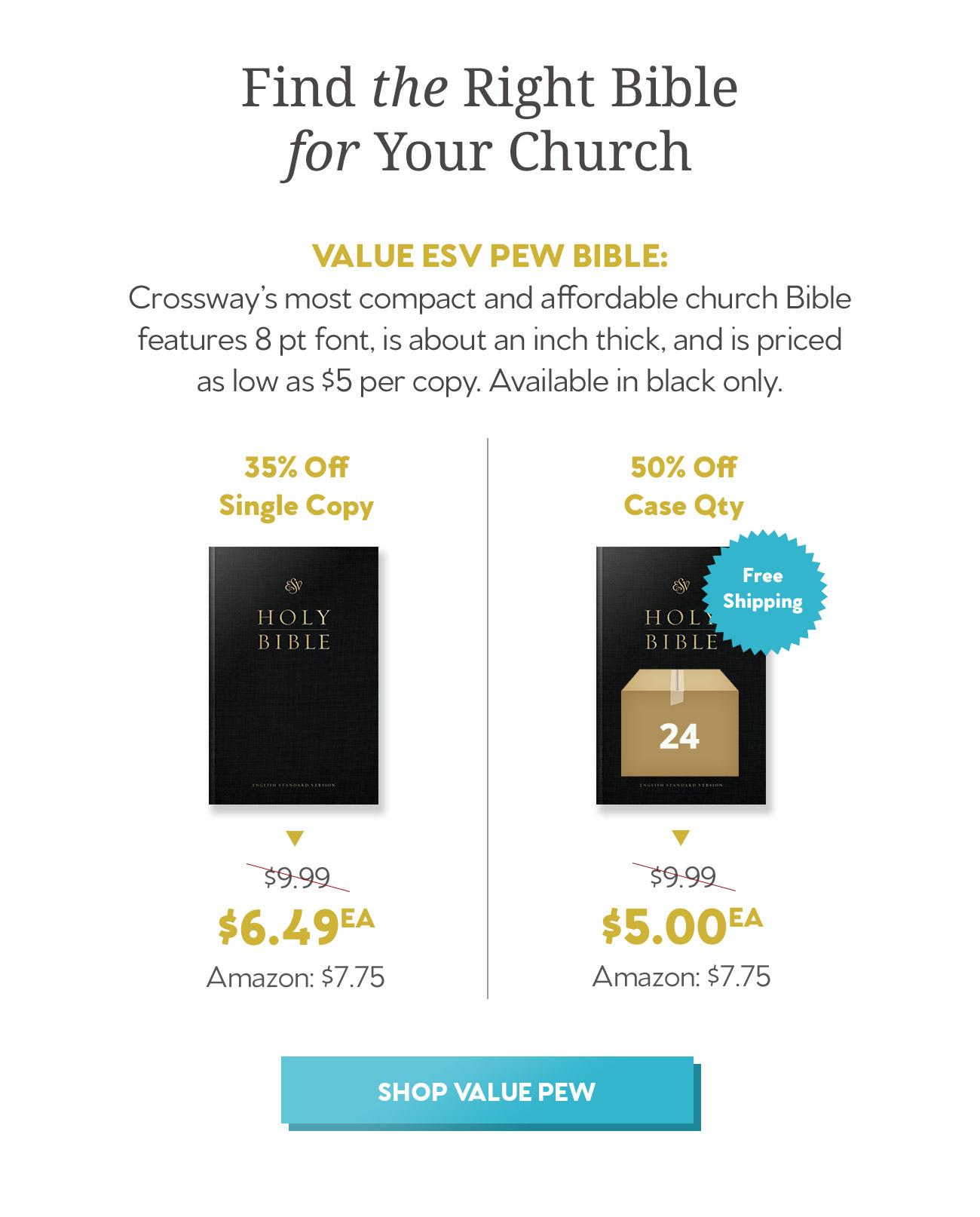 ESV Value Pew Bible