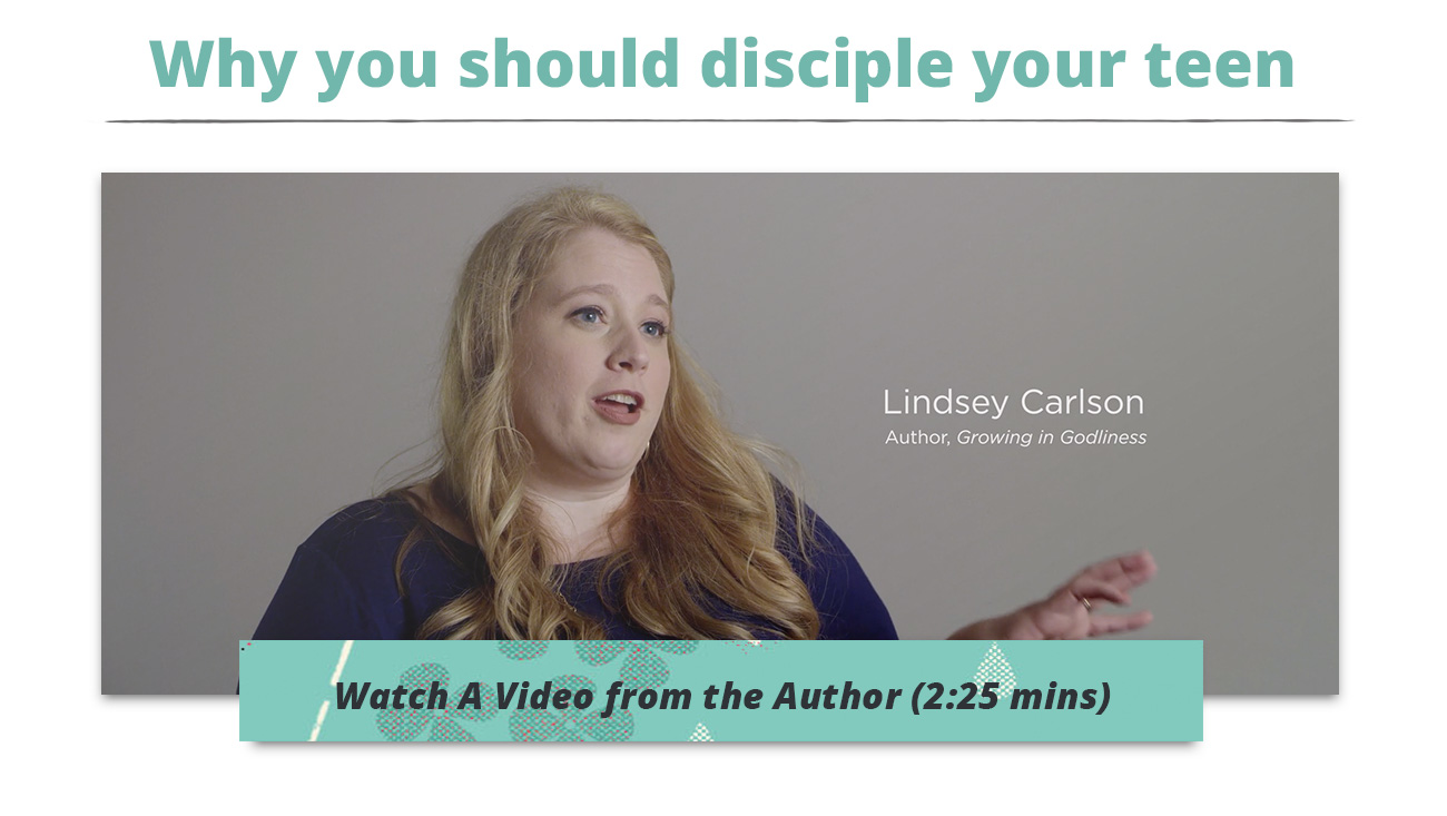 Why you should disciple your teen