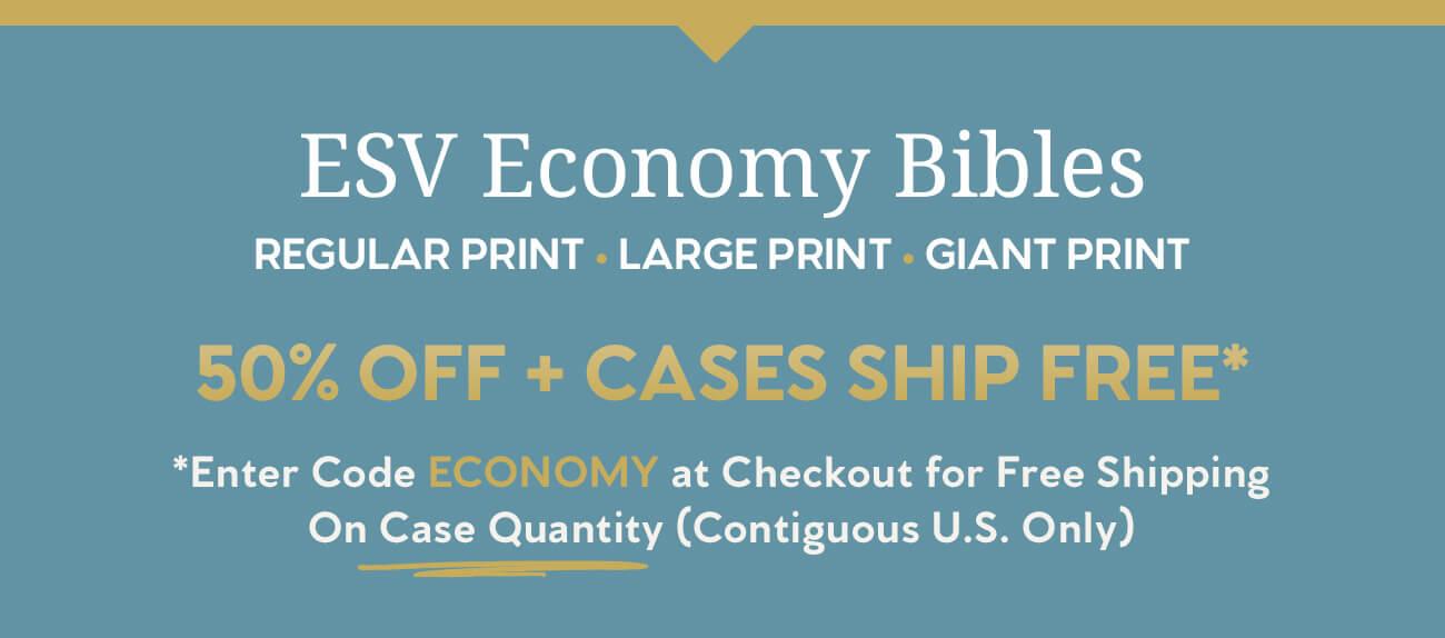 ESV Economy Bibles
