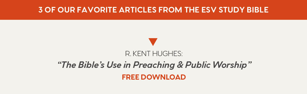 The Bible's Use in Preaching and Public Worship